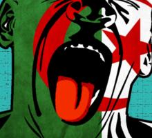 Algeria Scream Sticker