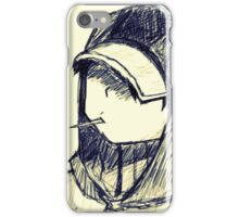A good camper is only a dead one iPhone Case/Skin
