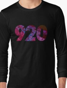 920 (Abstract Purple) Long Sleeve T-Shirt