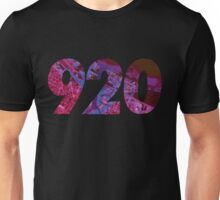 920 (Abstract Purple) Unisex T-Shirt