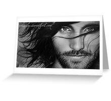 Viggo Mortensen - Aragorn Greeting Card