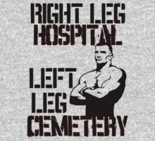 Mirko Cro Cop … Right Leg Hospital … Left Leg Cemetery by OliveB