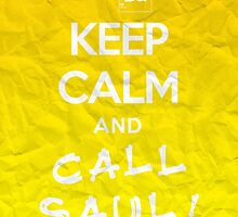 Keep Calm and Call Saul (Breaking Bad) by FanmadeStore