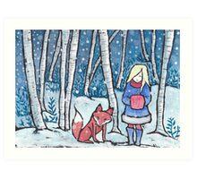 The Snow Child Art Print
