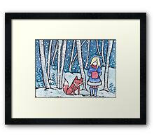 The Snow Child Framed Print