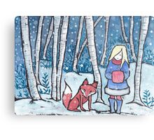 The Snow Child Metal Print