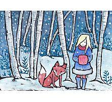 The Snow Child Photographic Print