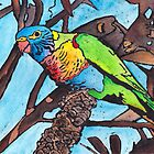 Lorikeet In a Tree by AnnaBaria