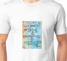 Joshua 1:9 Unisex T-Shirt