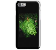 Night on snow lane iPhone Case/Skin
