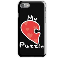Love Puzzle - My Puzzle iPhone Case/Skin