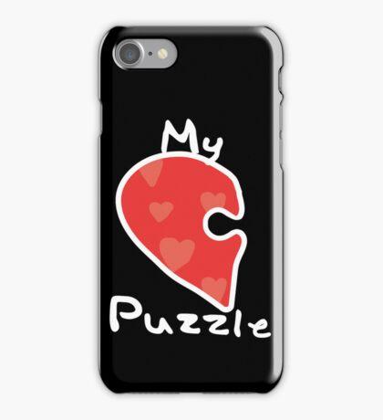 Love Puzzle - My Puzzle iPhone Case/Skin