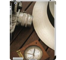 Leica camera and panama hat iPad Case/Skin
