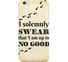 Solemnly Swear iPhone Case/Skin