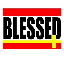 """BLESSED"" Photographic Print"