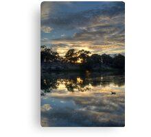Sunrise Over the Murray Canvas Print