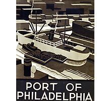 Port of Philadelphia Photographic Print