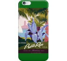 Discover Puerto Rico iPhone Case/Skin