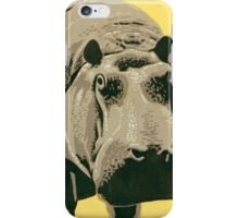 Visit the Zoo, Hippo iPhone Case/Skin