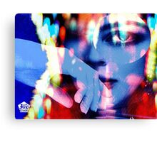 Uptown Girl Canvas Print