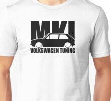 VW Tuning Golf Mk1  Unisex T-Shirt