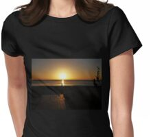 Dancing At Sundown Womens Fitted T-Shirt
