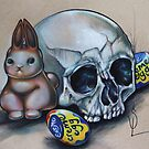 Eat Me Easter Bunny by OutsiderArtist