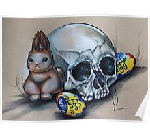 Eat Me Easter Bunny Poster