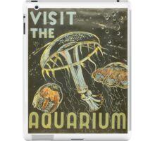 Visit the Aquarium, Jelly Fish iPad Case/Skin