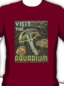 Visit the Aquarium, Jelly Fish T-Shirt