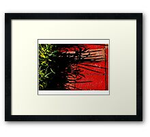 THE GRASS Framed Print