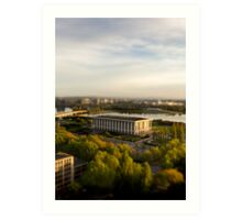 National Library of Australia Art Print
