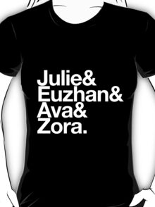 "Black Women in Film: The ""Julie"" T-Shirt"
