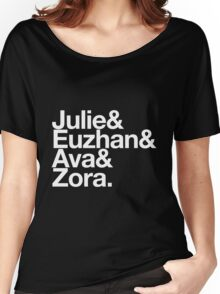 "Black Women in Film: The ""Julie"" Women's Relaxed Fit T-Shirt"