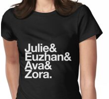 """Black Women in Film: The """"Julie"""" Womens Fitted T-Shirt"""