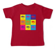 Pop Art 1200 Turntable Baby Tee