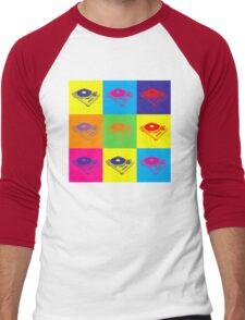 Pop Art 1200 Turntable Men's Baseball ¾ T-Shirt