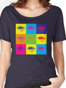 Pop Art 1200 Turntable Women's Relaxed Fit T-Shirt