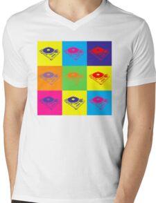 Pop Art 1200 Turntable Mens V-Neck T-Shirt