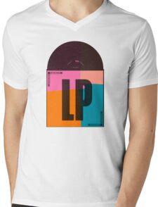 Album LP Pop Art Mens V-Neck T-Shirt