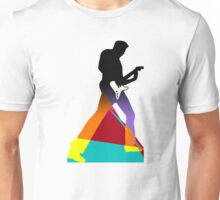 Pop Art Guitar Rocker Unisex T-Shirt