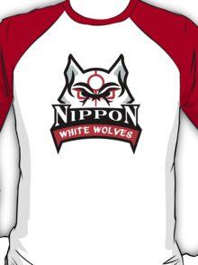 Okami White Wolves Sports Logo T-Shirt
