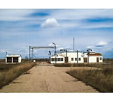 Cold War Relic Photographic Print