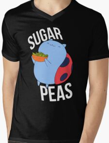 Catbug -- Sugar Peas!! Mens V-Neck T-Shirt