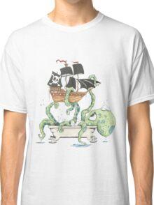 Kraken in the Tub Classic T-Shirt