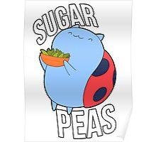 Catbug -- Sugar Peas!! Poster