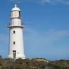 Corny Point Lighthouse, Yorke Peninsular, Sth. Aust. by Rita Blom