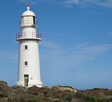 Corny Point Lighthouse, Yorke Peninsular, Sth. Aust. by Rita Blom