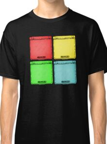 Colored Ink Gameboys Classic T-Shirt
