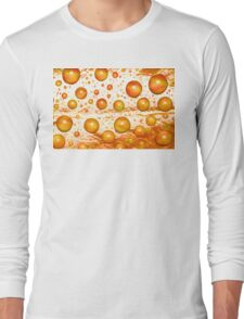Redleaf Water Droplets Long Sleeve T-Shirt